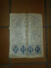 Ancien catalogue album N° 2 broderie Alphabets et Monogrammes