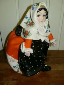 Essevi bimba con vestito svolazzante in abito sardo