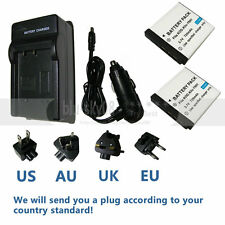 2X Battery KLIC-7001+charger For Kodak Easyshare M853 M863  MD41 IS Photo K38a
