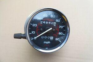 HONDA CB250 NIGHTHAWK - ORIGINAL MPH SPEEDO CLOCK GOOD WORKING ORDER