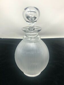 Lalique France Crystal Langeais Decanter