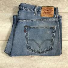 """Mens LEVIS 550 Blue Stonewashed 40""""W 30""""L Vintage Denim Jeans 550s #F3721"""