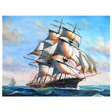 5D Diy Full Drill Diamond Painting Ship Cross Stitch Mosaic Craft Kits Ap