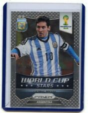 "2014 PANINI PRIZM SOCCER #1 LIONEL MESSI ""WORLD CUP STARS"", ARGENTINA, 060520"