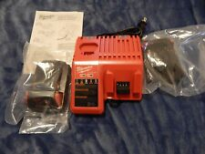 Brand New Milwaukee M12 & M18 Dual Charger  w/  2(Two)- M18 Batteries 48-11-1815