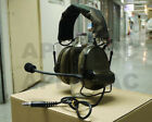 Z-Tactical Z041 DEVGRU Comtac 2 Style Headset w/ Noise Cancellation - OD