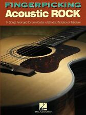 Fingerpicking Acoustic Rock Learn to Play Beatles Guitar TAB Music Book