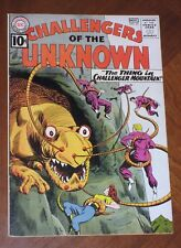 CHALLENGERS OF THE UNKNOWN #22 (1961) VERY FINE cond.