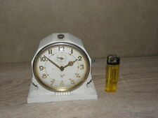 vintage clock alarm blangy retro desk  Art Deco design  Mechanics uhr