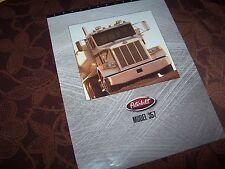 Prospectus / Brochure PETERBILT 357   1994 USA //