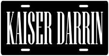 Kaiser Darrin Kaiser-Frazer License plate