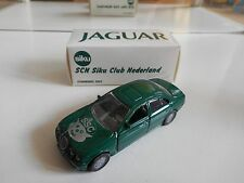 """Siku Jaguar S4.0 V8 """"Siku Club Nederland SCN 2002"""" in Green in Box"""