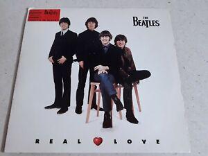 """Beatles - 7"""" Real Love / Baby's In Black"""