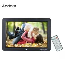 """Andoer 12"""" HD LED Digital Picture Frame 1280-800 Watch Video Clips MP3 MP4"""