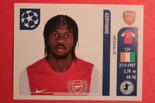PANINI CHAMPIONS LEAGUE 2011/12 N 359 GERVINHO ARSENAL WITH BACK BACK MINT!!