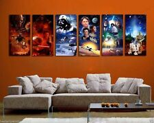 Home Decor Wall art,picture HD printed on canvas(Unframed)Star Wars6pc