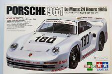 PORSCHE 961 LeMans 24 Hours 1986 - TAMIYA - 1/24