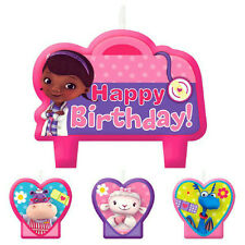 Amscan Bb171352 Doc McStuffins Birthday Candle Set -each