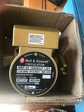 Bell Amp Gossett 103252lf Bronze Circulator Pump Nbf 22 125 Hp 115 V Circulating