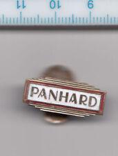 Vintage enamel PANHARD buttonhole lapel badge France Car Auto Voiture