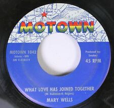 Soul 45 Mary Wells - What Love Has Joined Together / Your Old Stand By On Motown