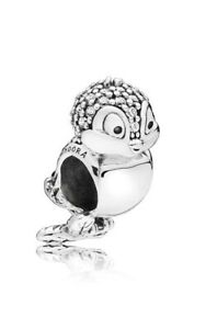 Genuine Pandora Charm Silver DISNEY Snow White's Bird 797166CZ