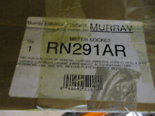 Murray 2 Position 1 Phase 100 Amp Meter Socket- New