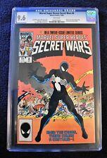 Marvel Super Heroes Secret Wars #8 CGC 9.6 WHITE Pages Origin of symbiote Venom