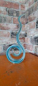 Blue And White Unusual glass Ornament
