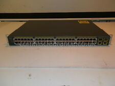 Cisco Catalyst 2960 48-Port PoE Switch WS-C2960-48PST-L incl STAFFE