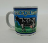 1993 Hershey's Milk Chocolate Made on the Farm Ceramic Coffee Mug Cup