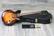UNPLAYED! Gibson ES-339 Studio 2017 Ginger Burst + OHSC and COA
