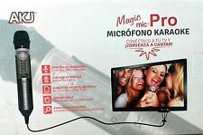 karaoke pro microphone 4000 spanish songs including