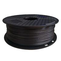 Carbon Fiber Fill PETG Filament 1.75 mm 3D Printer Material Black 1KG 2.2LBS
