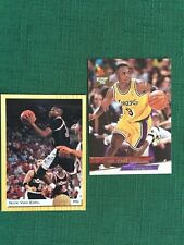 Nick VAN EXEL, 2 Basketball Cards, '93 Classic  #75 & Fleer Ultra, '93-4; #278