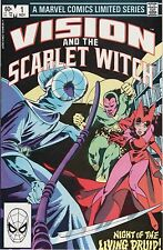 Vision and Scarlet Witch #1-4 (1982 Marvel) as seen in Avengers Infinity War
