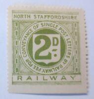 Großbritannien, Eisenbahn,  Railway  North Staffordshire    ♥ (13392)