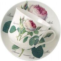 Redoute Roses Jumbotasse mit Untertasse Roy Kirkham 0,4l