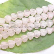Wholesale Natural Gemstone Heart Loose Spacer Beads 10X10MM