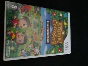 NINTENDO WII ANIMAL CROSSING LETS GO TO THE CITY