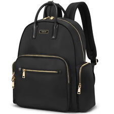 """TUCCH 14"""" Laptop Women Travel Business School Backpack Water Repellent Nylon Bag"""