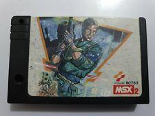 Metal GEAR MSX2 Konami RC750 SOLO CARTUCHO