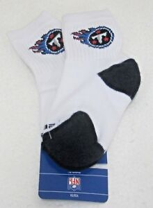 NFL Tennessee Titans Multi-Color Youth Quarter Socks By Reebok, Size 7-9