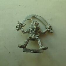 Warhammer Citadel classic 80s Dual Weapon Orc A oop