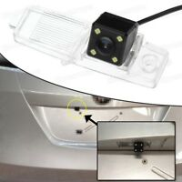 4 LED CCD Car Rear View Camera Reverse Backup for 2007-2013 Toyota Corolla