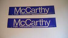 McCarthy for President Bumper Sticker (1)