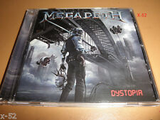 MEGADETH cd DYSTOPIA dave mustaine FATAL ILLUSION threat is real THRASH METAL