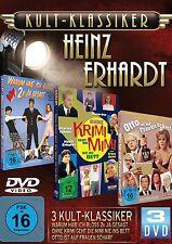 HEINZ ERHARDT Gunther Philipp RUDI CARRELL Juhnke CHRIS ROBERTS .. 3 DVD Box NEU