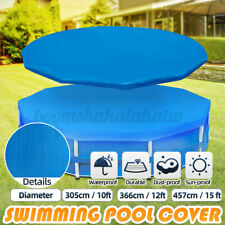 10/12/15ft Swimming Pool Cover Lot for Garden Outdoor Paddling Family Pools. !
