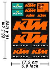 Dirtbike Motocross Motorex Decals Stickers Graphic Aufkleber Adesivi /611